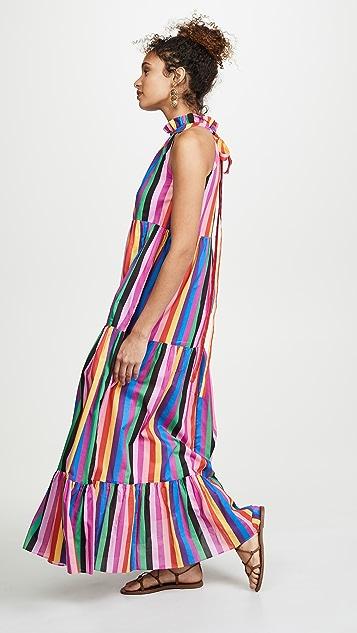 Borgo de Nor Pandora Halter Neck Dress