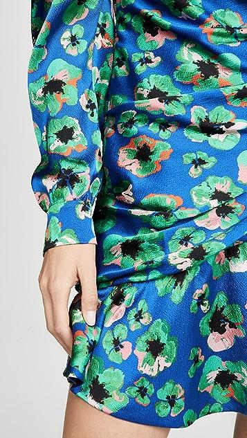 Borgo de Nor Мини-платье Christina с цветочным и леопардовым рисунком