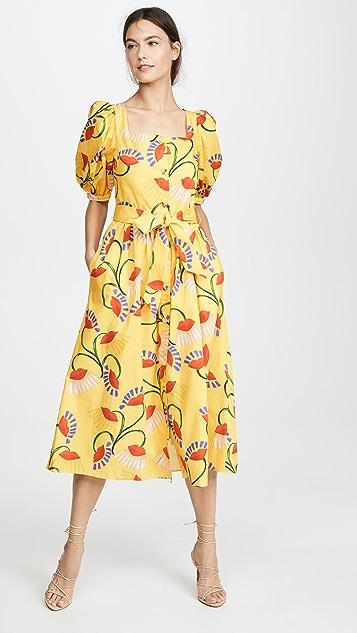 Borgo de Nor Платье с цветочным рисунком Corin