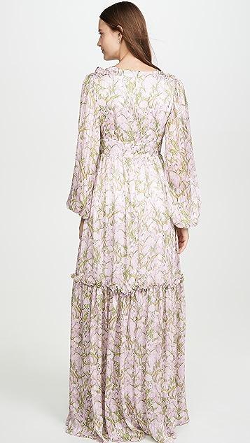 Borgo de Nor Платье Iman Waving Grass