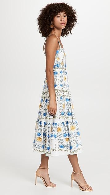 Borgo de Nor Daniela Cotton Dress
