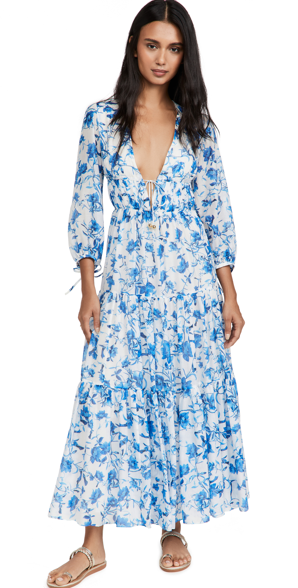 Faustine Voile Dress