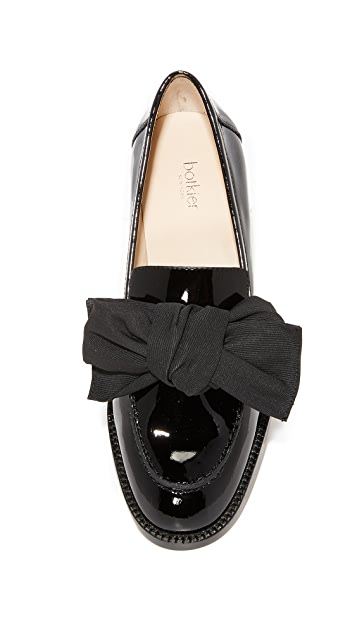 Botkier Violet Bow Loafers