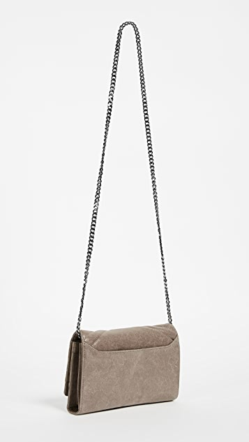 Botkier Soho Quilted Wallet on a Chain