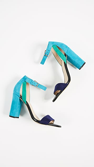 Botkier Gianna Colorblock Sandals