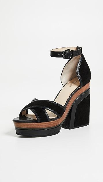 Botkier Paloma Block Heel Sandals