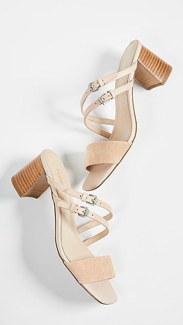 Botkier Сандалии Dune на квадратном каблуке с ремешками