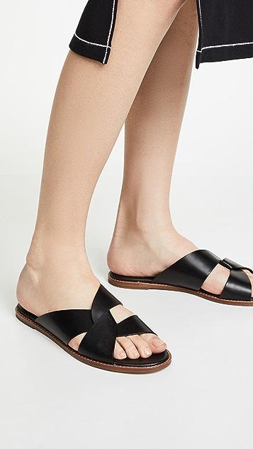 Botkier Zuri Twist Slide Sandals