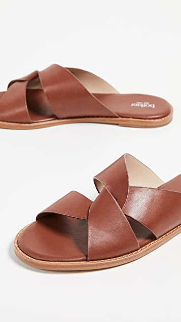 Botkier Zuri Twist Slide Sandals