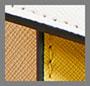 Желтовато-коричневый с цветными блоками