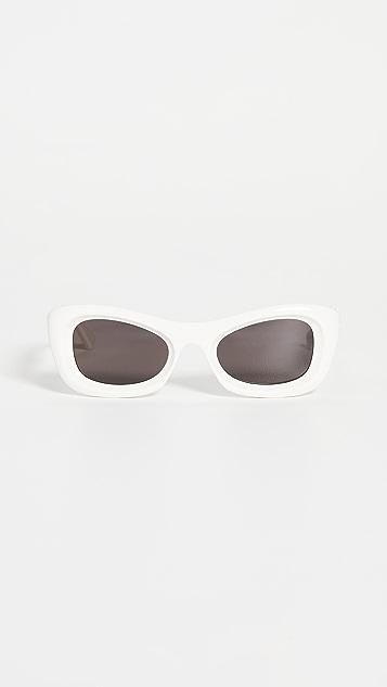 Bottega Veneta 原创女式醋酸纤维塑料太阳镜