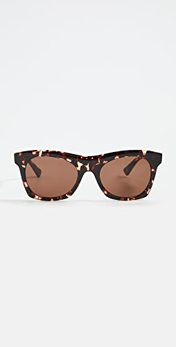 Bottega Veneta - New Entry Acetate Square Sunglasses