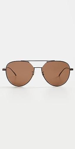 Bottega Veneta - Classic Aviator Sunglasses