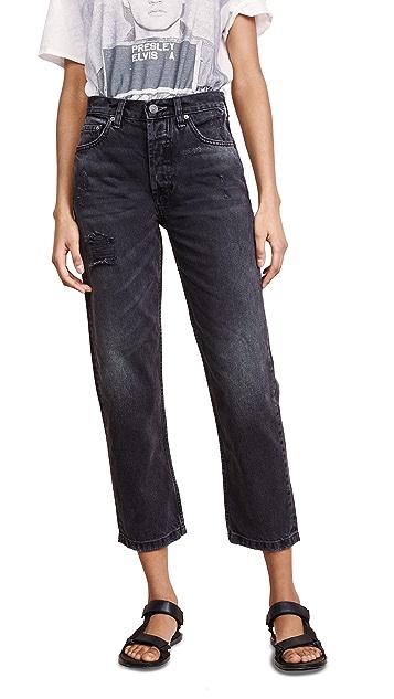 Boyish Tommy High Rise Rigid Straight Jeans