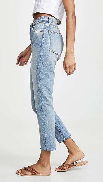 В мальчиковом стиле Жесткие джинсы-скинни Billy с высокой посадкой