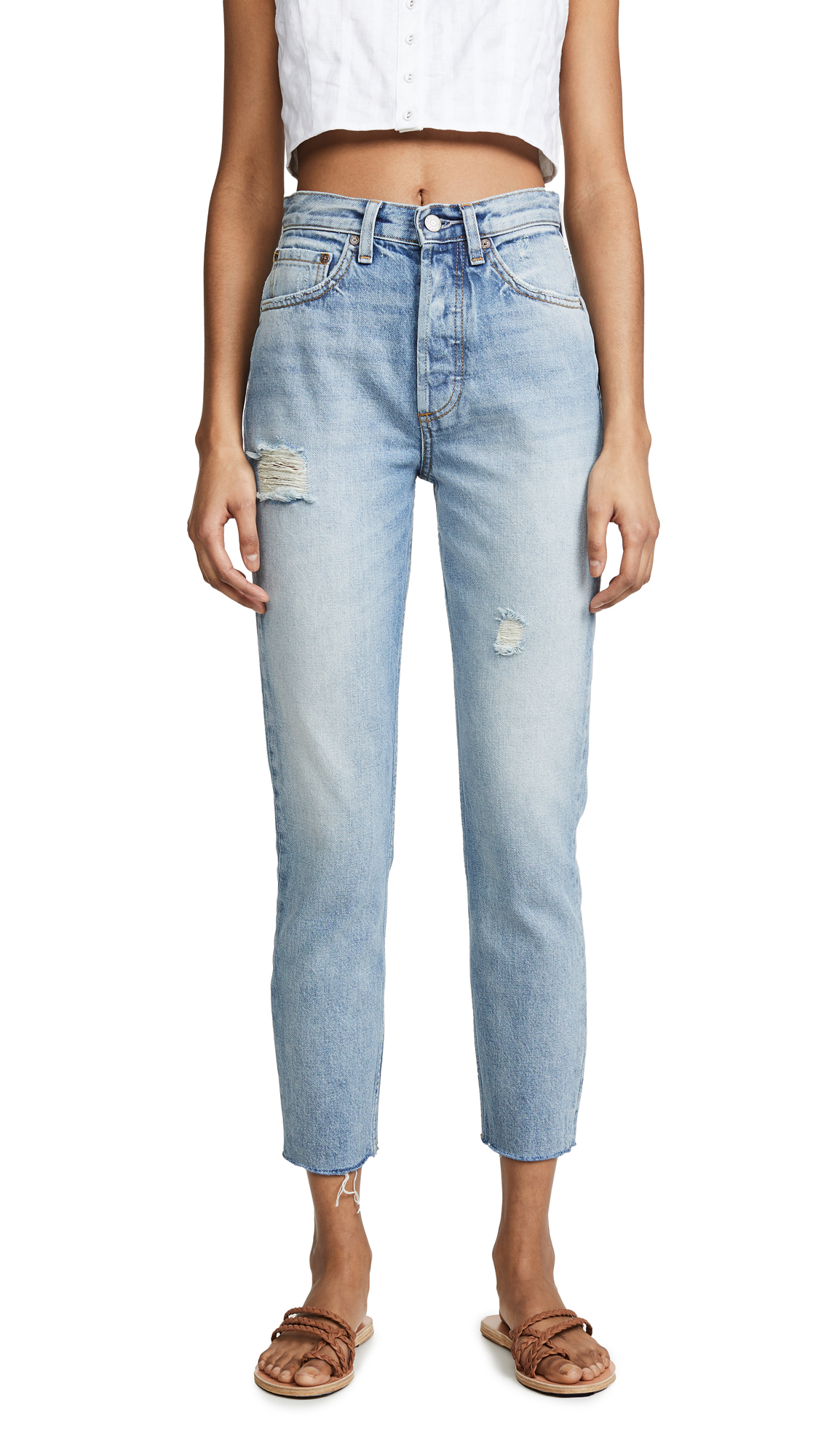 Boyish The Billy High Rise Rigid Skinny Jeans