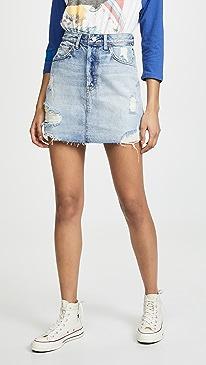 The Corey High Rise Rigid Skirt