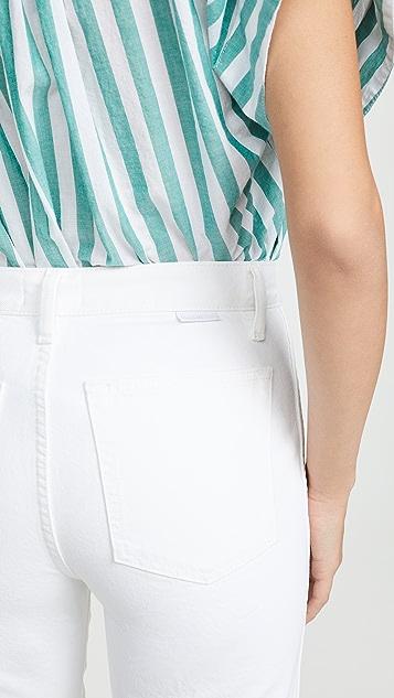 В мальчиковом стиле Винтажные прямые джинсы Kirby