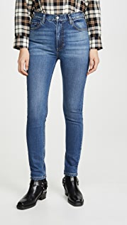 Boyish The Zachary High-Rise Comfort Stretch Skinny Jeans