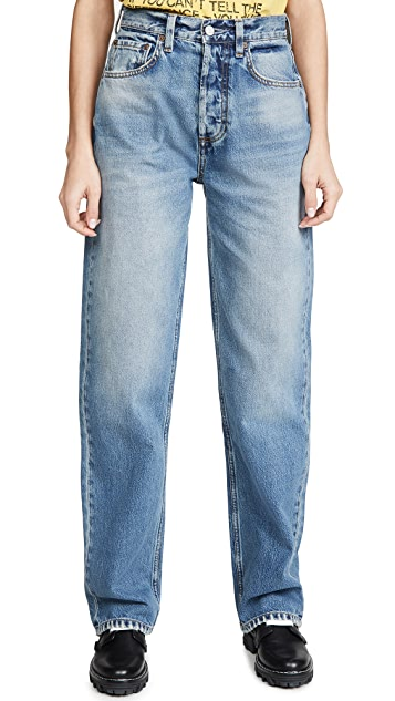 男友风格 The Ziggy 高腰硬朗风格休闲牛仔裤