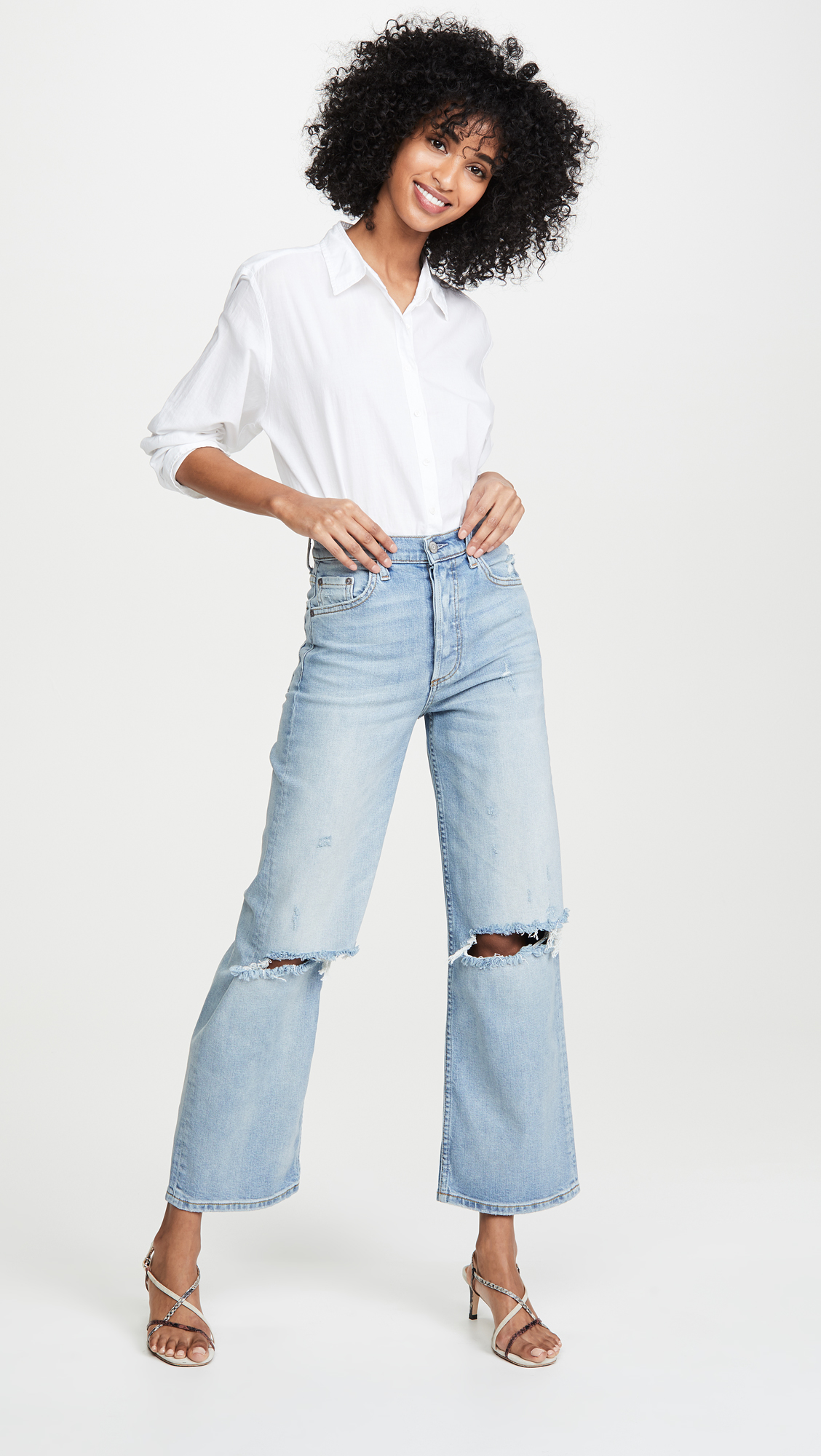 Jeans of the Week: Boyish The Mikey Wide-Leg Flares