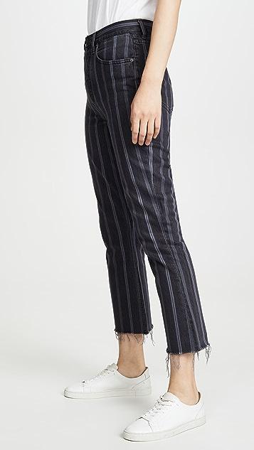 Boyish The Darcy Rigid Pop Crop Jeans