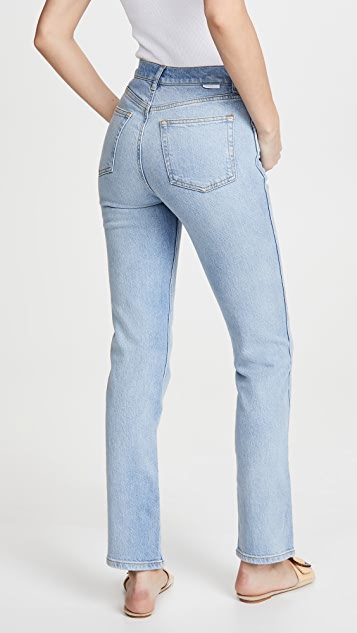 Boyish The Dempsey High Rise Comfort Stretch Jeans