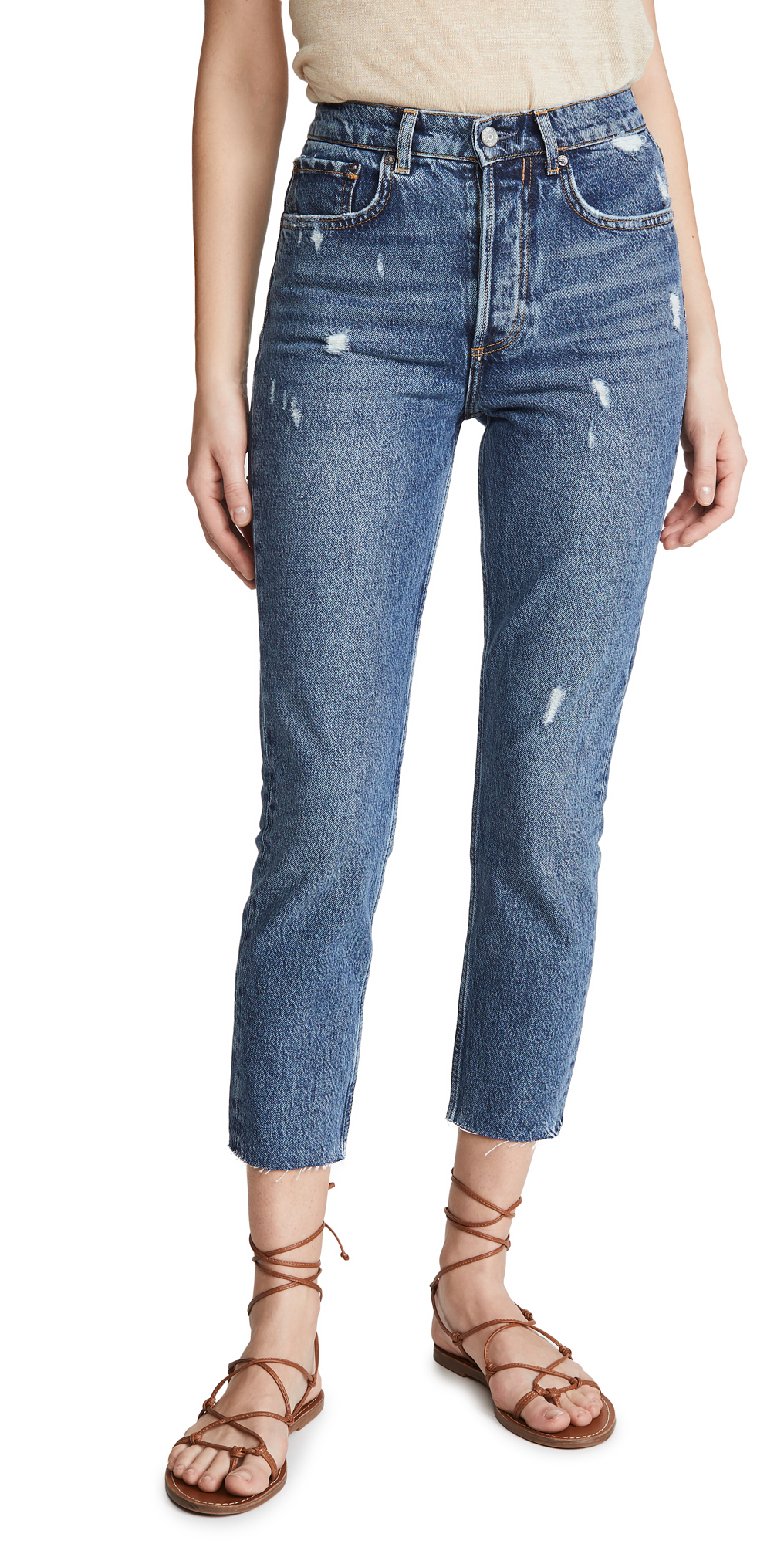 Boyish The Billy High Rise Rigid Jeans