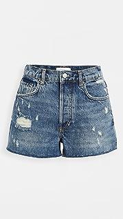 Boyish The Cody High Rise Rigid Cutoff Shorts