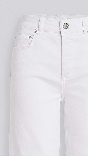 男友风格 The Mikey 高腰舒适弹性阔腿牛仔裤