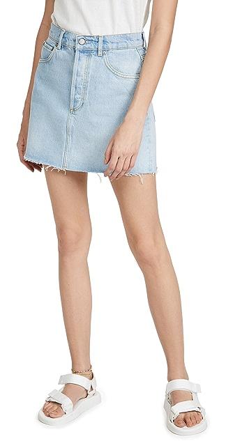Boyish Corey Denim Skirt