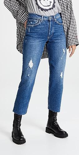 Boyish - Tommy High Rise Straight Leg Jeans