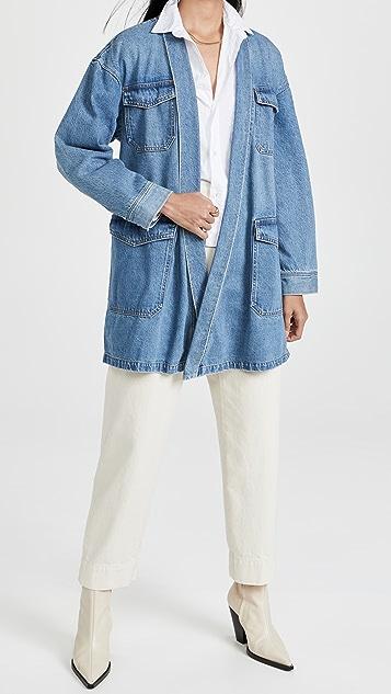 Boyish Joaquin 和服式夹克连衣裙