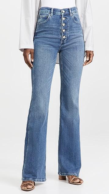 Boyish Ricky High Rise Flare Jeans