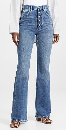 Boyish - Ricky High Rise Flare Jeans