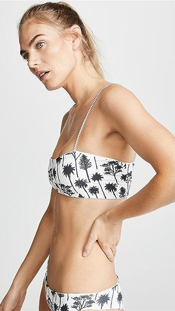 Boys + Arrows Reversible Hezeus Bikini Top
