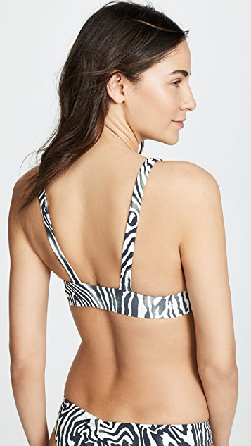 Boys + Arrows Fillis Bikini Top