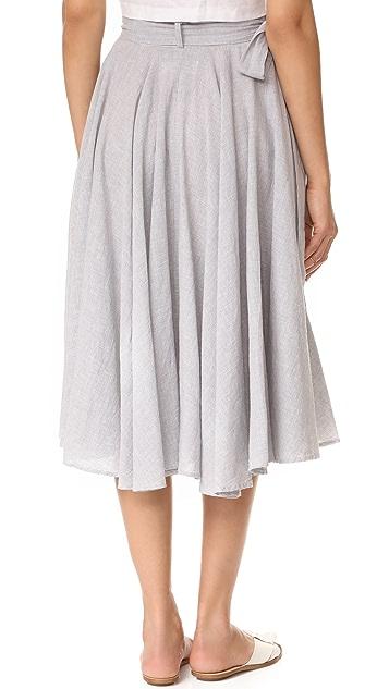 Birds of Paradis Wrap Skirt