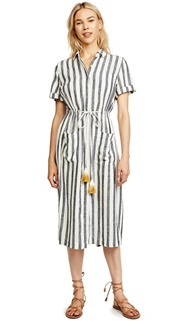 Birds of Paradis Cleo Utility Dress