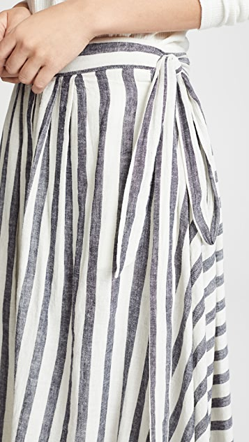 Birds of Paradis Jenna Wrap Skirt