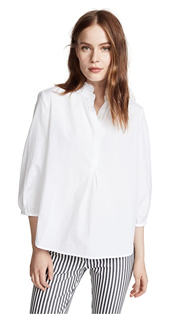 Birds of Paradis Sara Henley Shirt