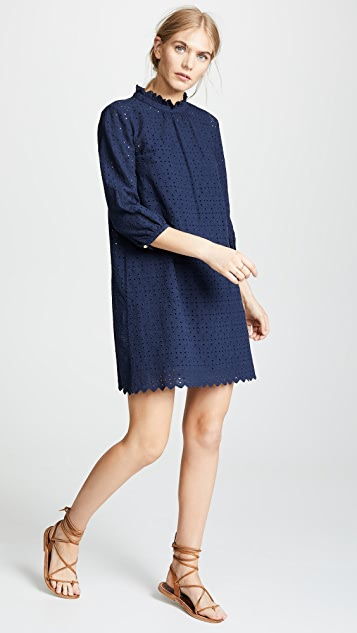 Birds of Paradis The Madison High Neck Dress