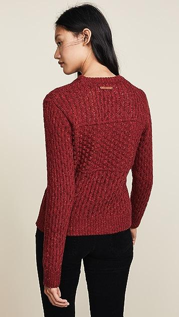Birds of Paradis The Laura Multi Textured Sweater