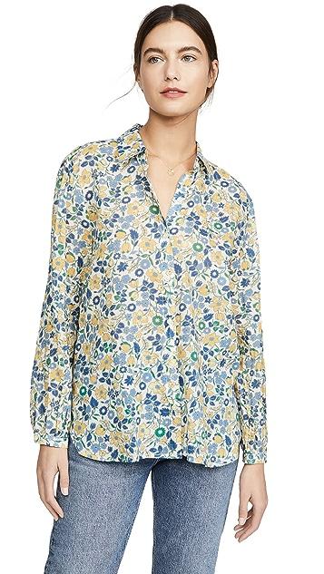Birds of Paradis Eden Floral Shirt