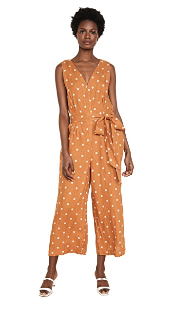 Birds of Paradis Rebecca Sleeveless Jumpsuit