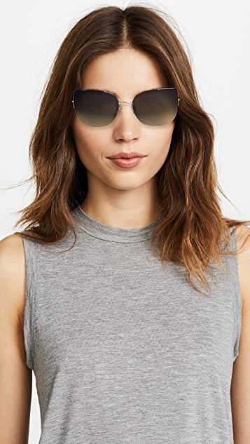 Barton Perreira Voyant Cat Eye Sunglasses