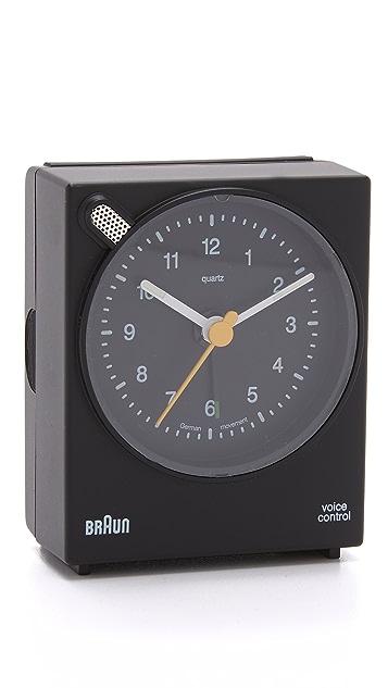 Braun Voice Activated Alarm Clock