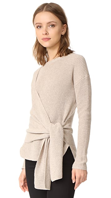 Brochu Walker Greys Wrap Sweater
