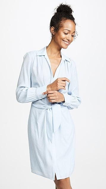 Brochu Walker Madsen Shirtdress - Skylar Blue