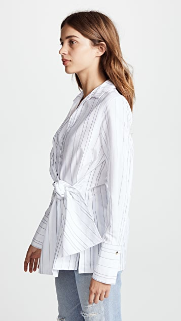 Brochu Walker Crewe Wrap Shirt